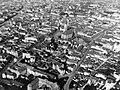 Kolozsvár 1941, légifotó, középen a Szent Mihály templom. Fortepan 31236.jpg