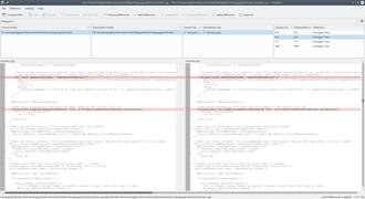 File comparison - The KDE diff tool Kompare