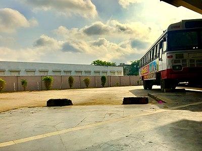 Kondapalli Gannavaram bus in Gamnavaram Bus Station.jpg