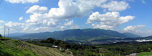 Kongō Range - Image: Kongousanchi 20101012