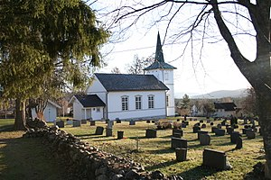 Konnerud old church, Drammen, Norway