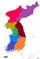 Korea Peninsula Map Chinese.png