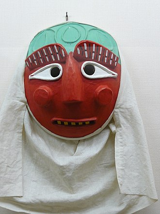 Korean mask - Image: Korean mask Yeoniptal 01