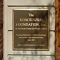 Kosciuszko Foundation 15 E65 St plaque jeh.jpg