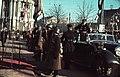 Kossuth tér, ünnepség a frontról hazatért katonák tiszteletére a Városháza előtt. Horthy Miklós kormányzó érkezése. Fortepan 92463.jpg