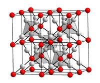 Kristallstruktur von Silber(I)-oxid