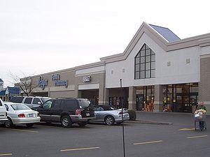 A typical Kroger storefront, Bowling Green, Ke...