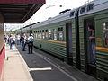 Kryukovo station, regional train (elektrichka) (4669955260).jpg
