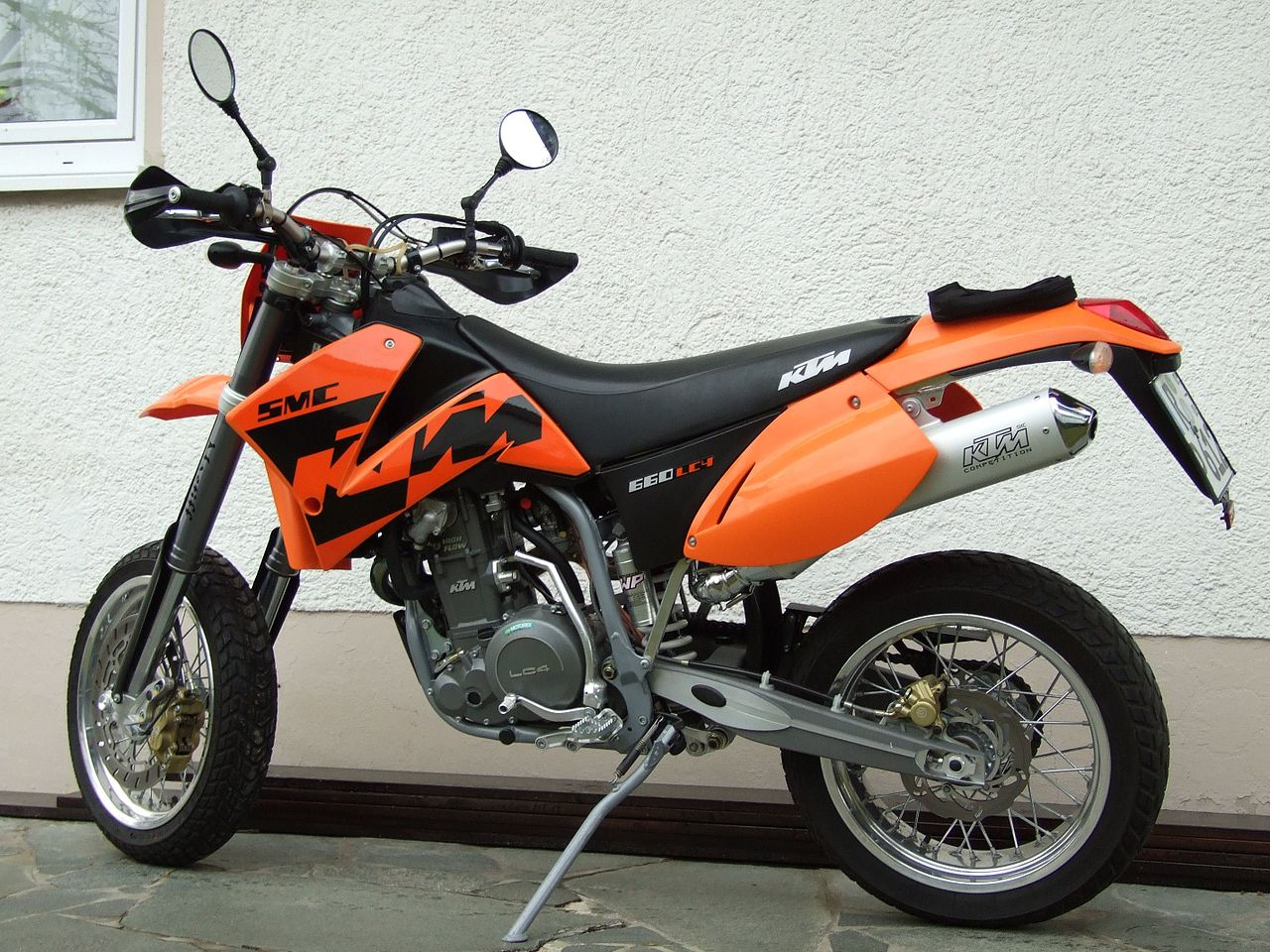 Ktm  Exc Starts Then Backfires
