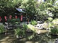 Kudokuike Pond and Mikka Ebisu Shrine in Sumiyoshi Shrine.jpg