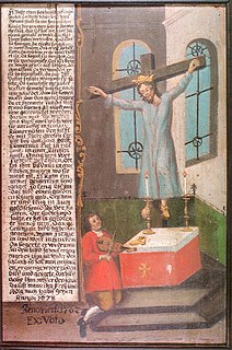 Wilgefortis German Catholic saint