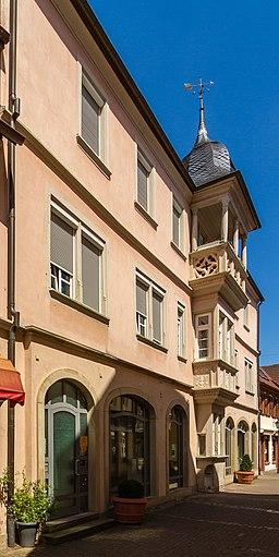 Marktstraße in Bad Bergzabern