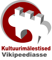 Kultuurimälestised Vikipeediasse logo.png