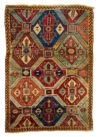 Kurds in Turkey - Kurdish Anatolian carpet, early 19th century.