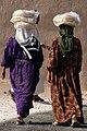 Kurdish women carrying bread home from the souk, Dohuk, Iraqi Kurdistan.jpg