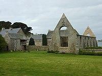 L'Aber-Wrach 3 Abbaye ND des Anges vue générale.JPG