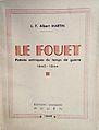 """L.-François-Albert Martin, """"Le fouet. Poésies satiriques du temps de guerre, 1940-1944"""", 1945.jpg"""