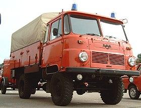 Löschgruppenfahrzeug LF-Lkw-TS 8-STA