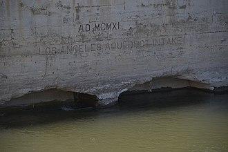 Los Angeles Aqueduct - Image: La aqueduct intake