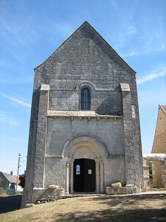 La Celle-Condé - The church of Saint-Denis, in La Celle-Condé