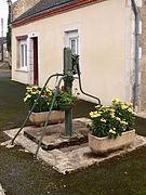 L'ancienne pompe à eau en 2013.