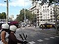 La Gran Via col·lapsada per la protesta dels taxis 20180727 174550.jpg
