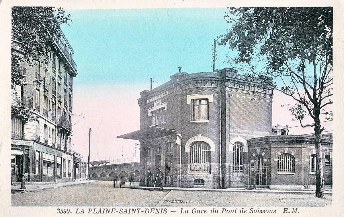 Gare de la plaine voyageurs wikip dia for Garage de la gare bretigny