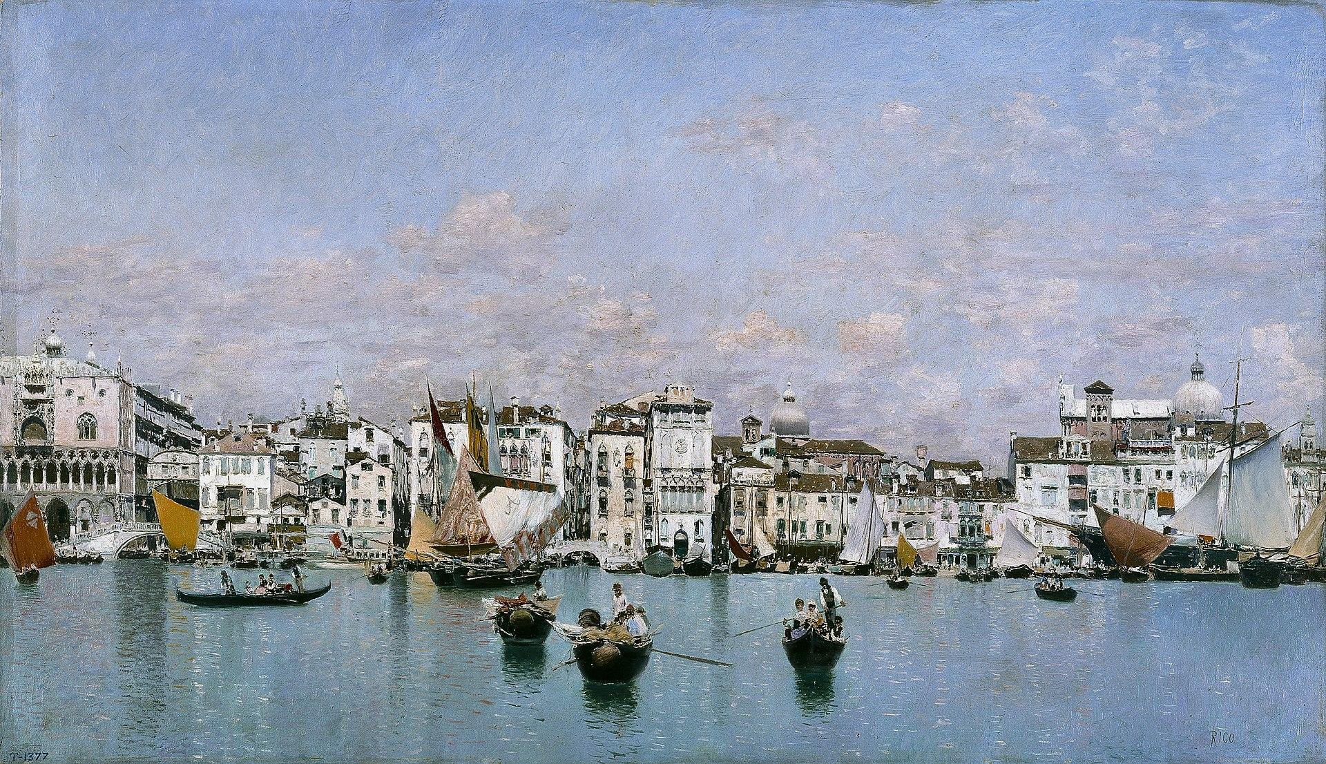 La Riva degli Schiavoni en Venecia, por Martín Rico.jpg