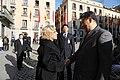 La alcaldesa entrega la Llave de Madrid al presidente chino en su visita al Ayuntamiento 01.jpg