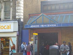 Ladbroke Grove - Image: Ladbroke Grove