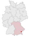 Lage des Landkreises Altötting in Deutschland.png