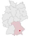 Lage des Landkreises Erding in Deutschland.png