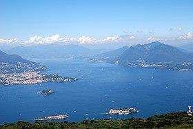 Randonnée lac Majeur - Randonnée îles Borromées - Le lac Majeur