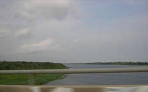 Lagos Lagoon - Lagos Lagoon in 2007