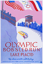 Lake Placid Olympic bobsled run, WPA poster, ca. 1937.jpg