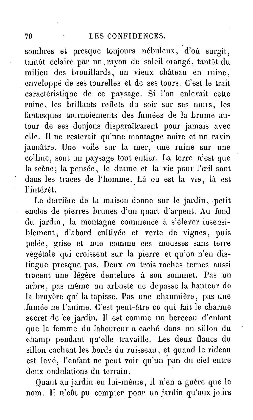 Page lamartine uvres compl tes de lamartine tome 29 for Jardin lamartine