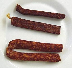 Landjäger - Different types of Landjäger