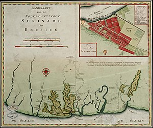 Berbice - Berbice and Suriname around 1767.