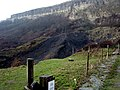 Landslips at Gore Cliff - geograph.org.uk - 64160.jpg