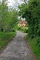 Lane from St Andrew's Church, Chilcomb - geograph.org.uk - 436316.jpg
