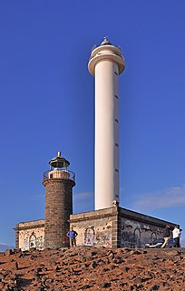 Pechiguera Lighthouse Lighthouse on Lanzarote, Spain