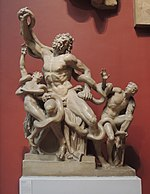 Laocoon group - replica in Pushkin museum 03 by shakko.JPG