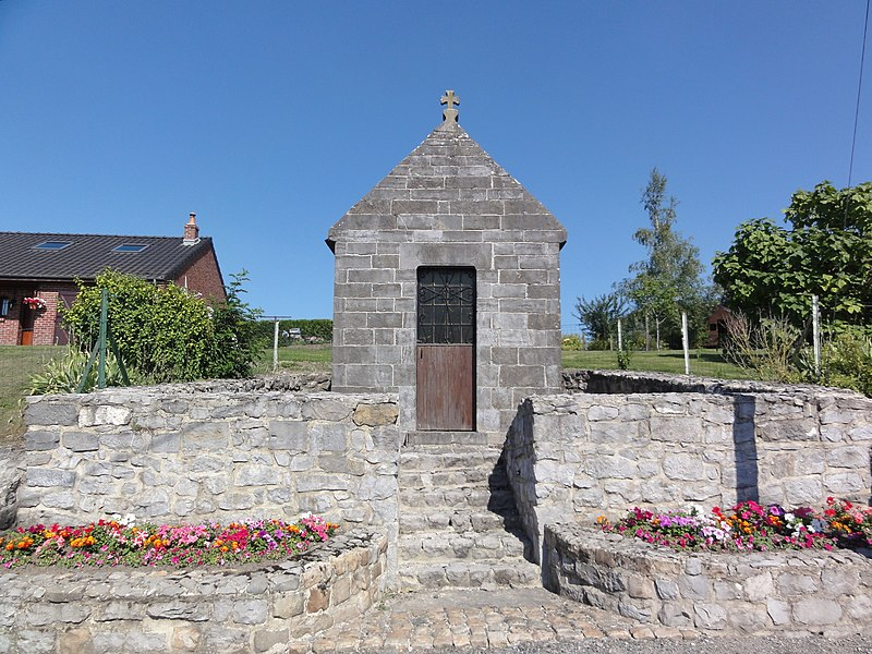 Larrouillies (Nord, Fr) chapelle