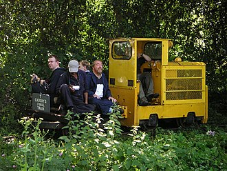 Cadeby Light Railway - The last train at Cadeby, 2005