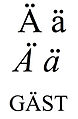 Latin small and capital letter a with diaeresis.jpg