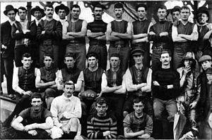 Latrobe Football Club - The Latrobe Football Club in 1904