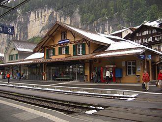 Lauterbrunnen - Lauterbrunnen railway station