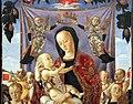 Lazzaro bastiani, madonna col bambino, angeli e la trinità, 1475 ca. 02.JPG