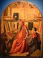 Lazzaro bastiani, san girolamo nello studio col committente saladino ferro, medico, 1475-80 ca. (monopoli, museo diocesano) 01.jpg