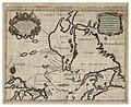 Le Canada ou partie de la Nouvelle France dans l'Amerique Septentrionale, contenant la Terre de Labrador, la Nouvelle France, les Isles de Terre Neuve, de Nostre Dame, etc. - a´ l'usage de Monseigneur le Duc de Bourgogne CTASC.jpg